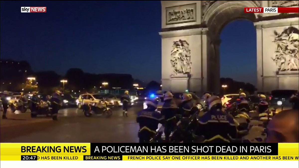 Police officer killed in #Paris after man began shooting with a 'Kalashnikov', according to French media report