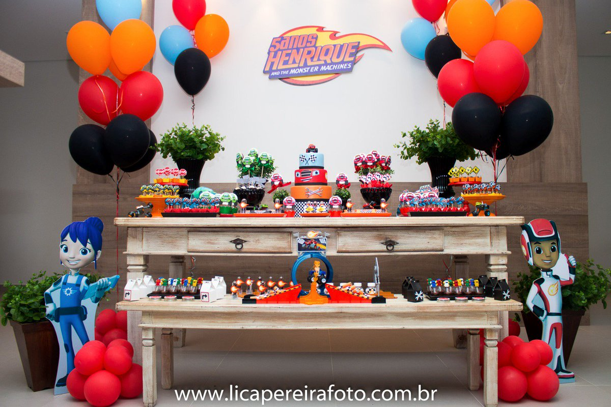 Festa Campinas On Twitter Blaze And The Monster Machines Party Festa Do Blaze And The Monter Machines