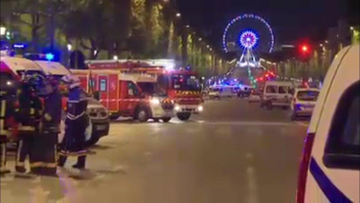 Вцентре Парижа произошла стрельба, убит один полицейский