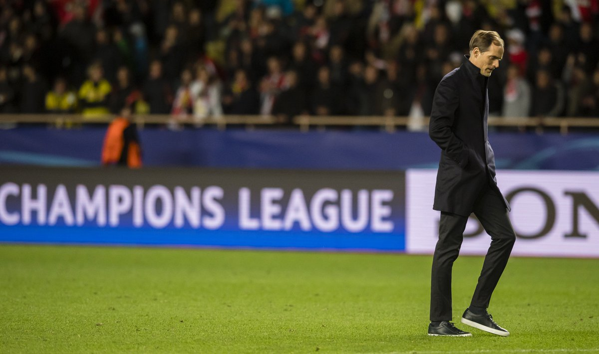 Is Thomas Tuchel to blame for Dortmund&#39;s @championsleague exit? Our @jsampson_23 says yes. #UCL #ASMBVB  http:// bit.ly/2pWYVun  &nbsp;  <br>http://pic.twitter.com/WUr13NhH6F