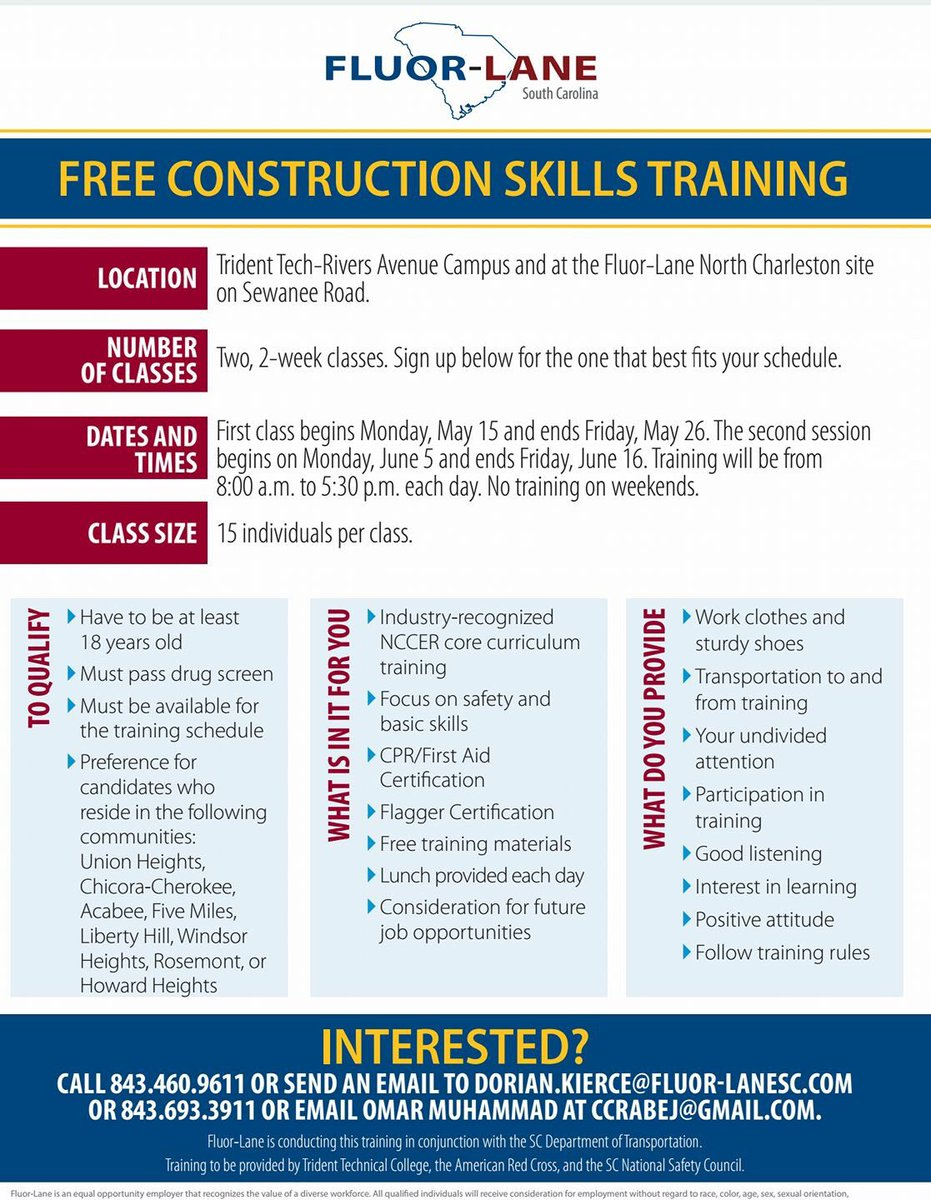 Blm843 On Twitter Pre Employment Training In Construction For Lamc