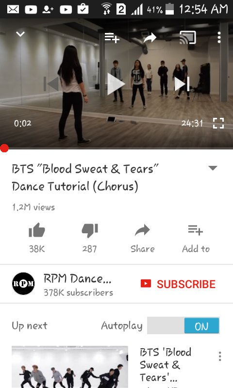 Bts Blood Sweat And Tears Dance Practice Download