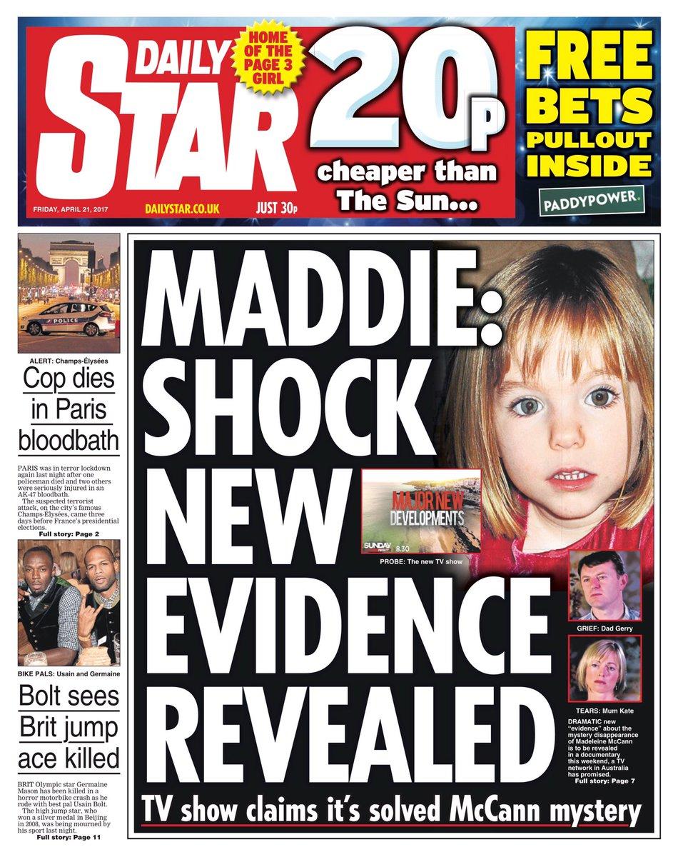 'Maddie: Shock new evidence' C94sH2OW0AYZTO2