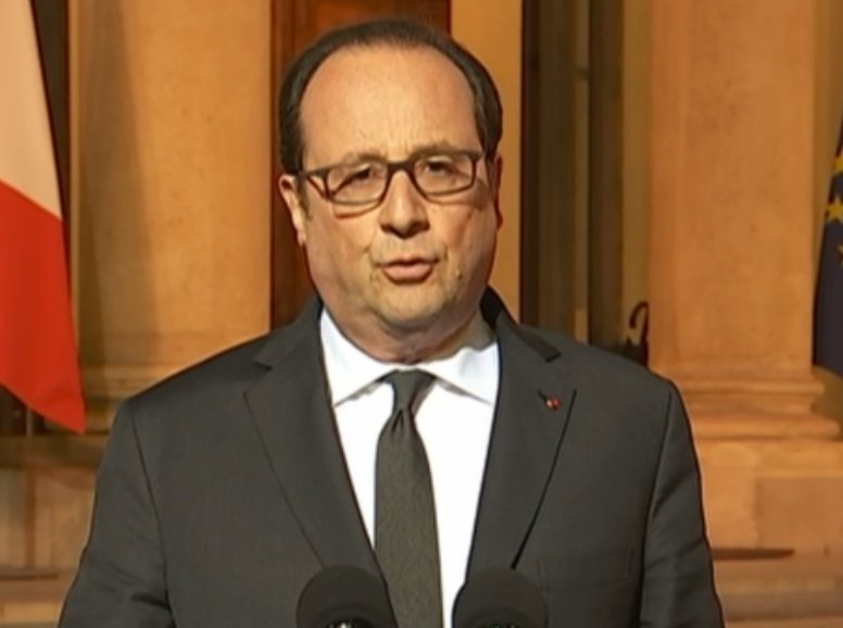 We are convinced of a terrorist motive,in tonight's shooting, says France President @fhollande in televised remarks.