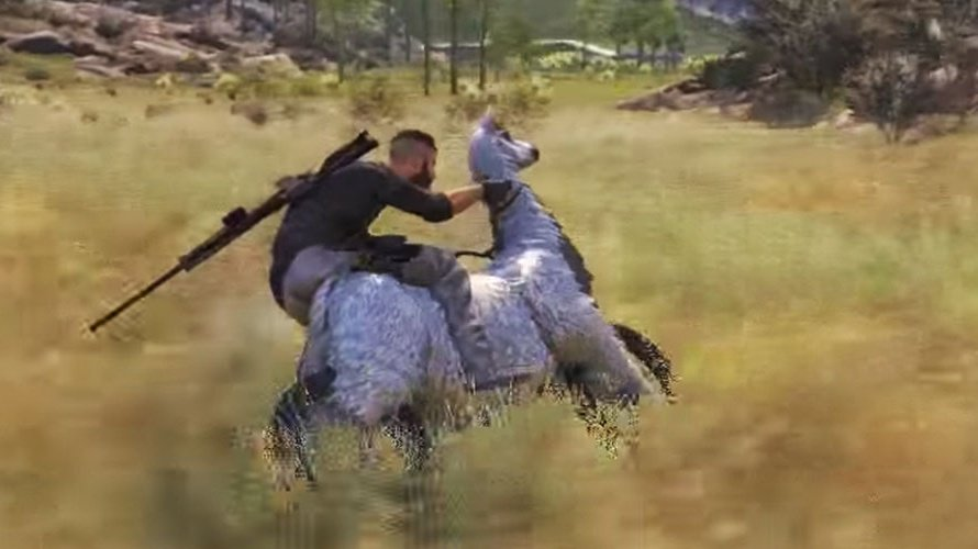 Pvp Live On Twitter There Is A Secret Llama Motorcycle In Ghost