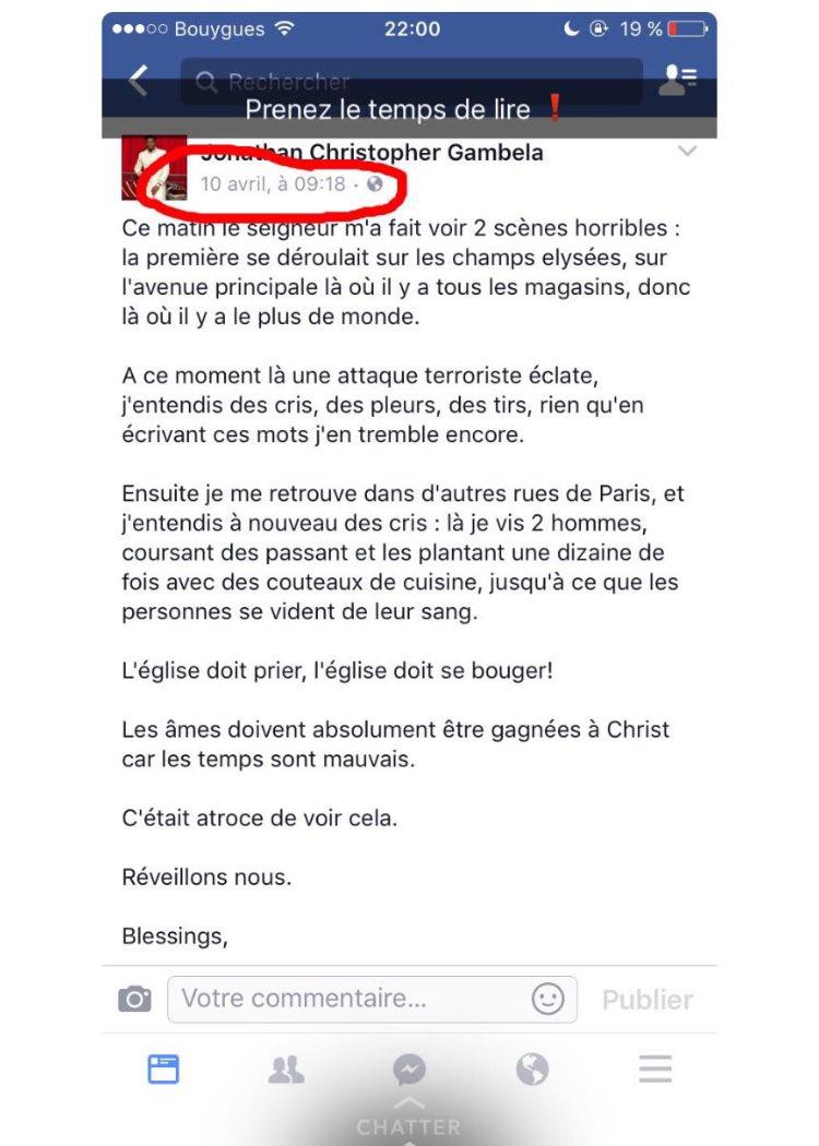 WESH  Regarder sa #attentat #ChampsElysées<br>http://pic.twitter.com/S8hZDo6nwz
