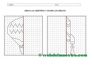 """Web del Maestro on Twitter: """"Simetría para niños de primaria https://t co/EEpG5EcvsE"""