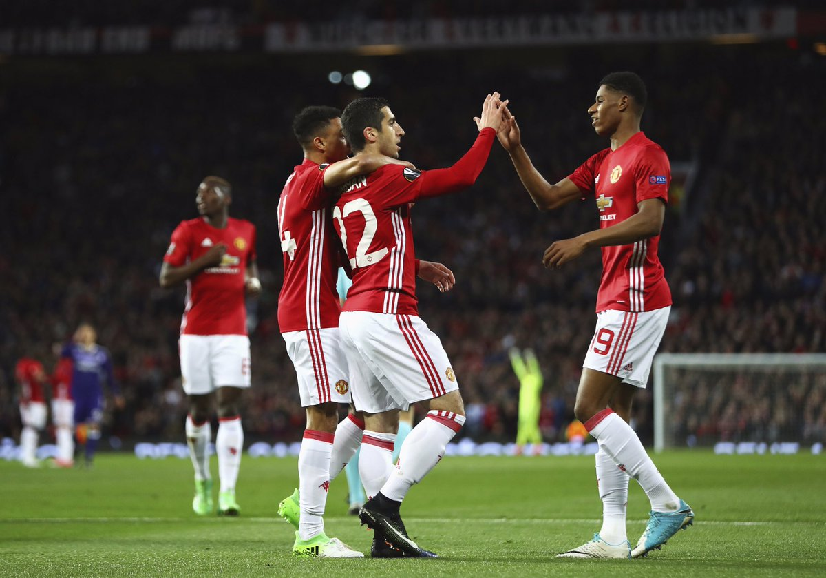 What drama tonight! We&#39;re one step closer to the #UEL final! So happy we won, so happy I scored &amp; what a goal from @MarcusRashford  #mufc<br>http://pic.twitter.com/s1yP1sz8de