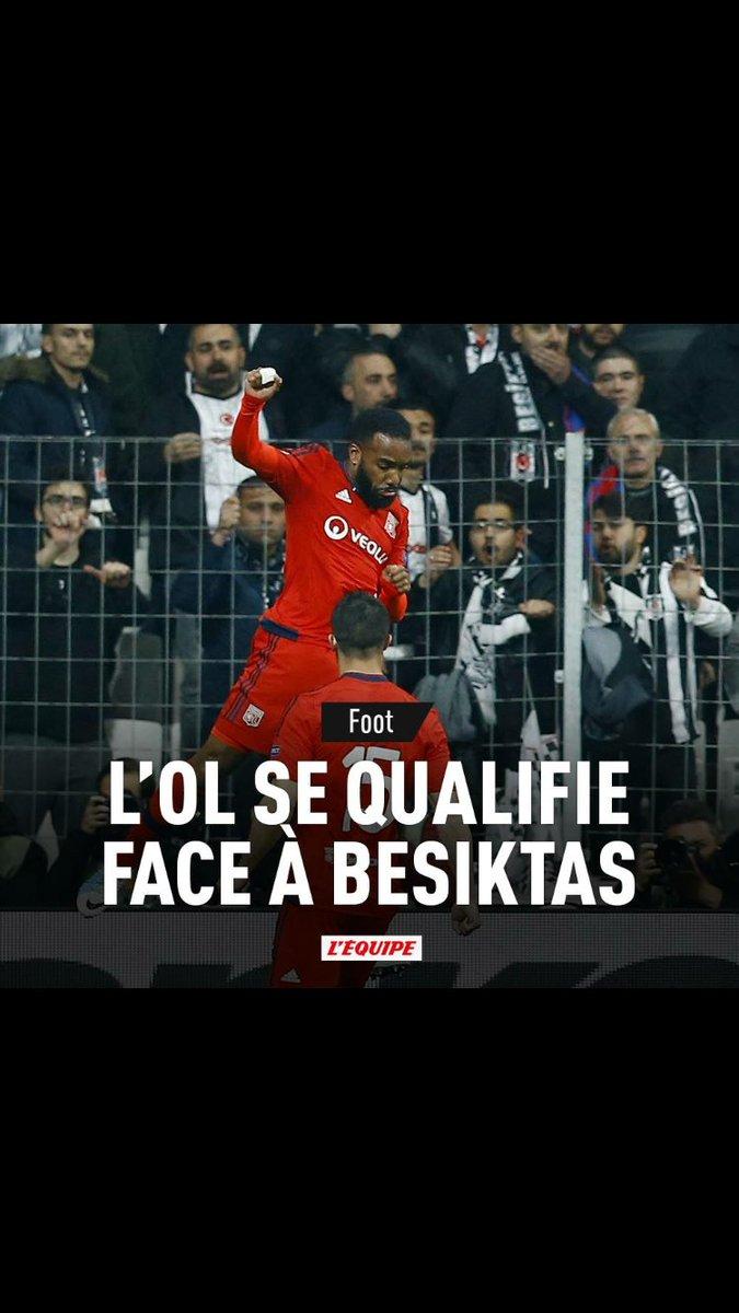 Qualification @OL #OLBesiktas #TeamOL #Lyon #OL #LigueEuropa <br>http://pic.twitter.com/XT69XdxI2d