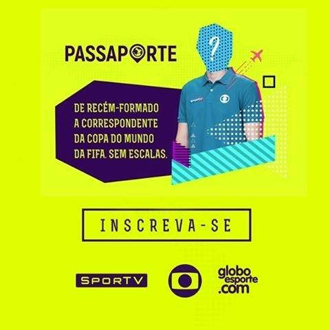 Faça parte do nosso time! As inscrições para o Projeto Passaporte estão  abertas! Acesse f42be8c60f054