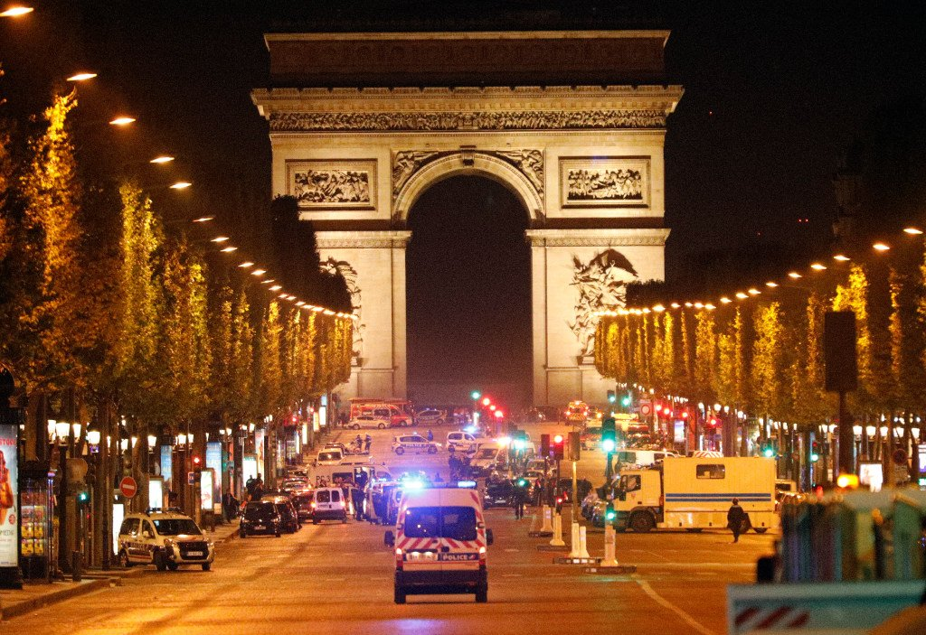 ISIS claims attack on Paris police shot on iconic Champs-Elysees avenue, with gunman killed.