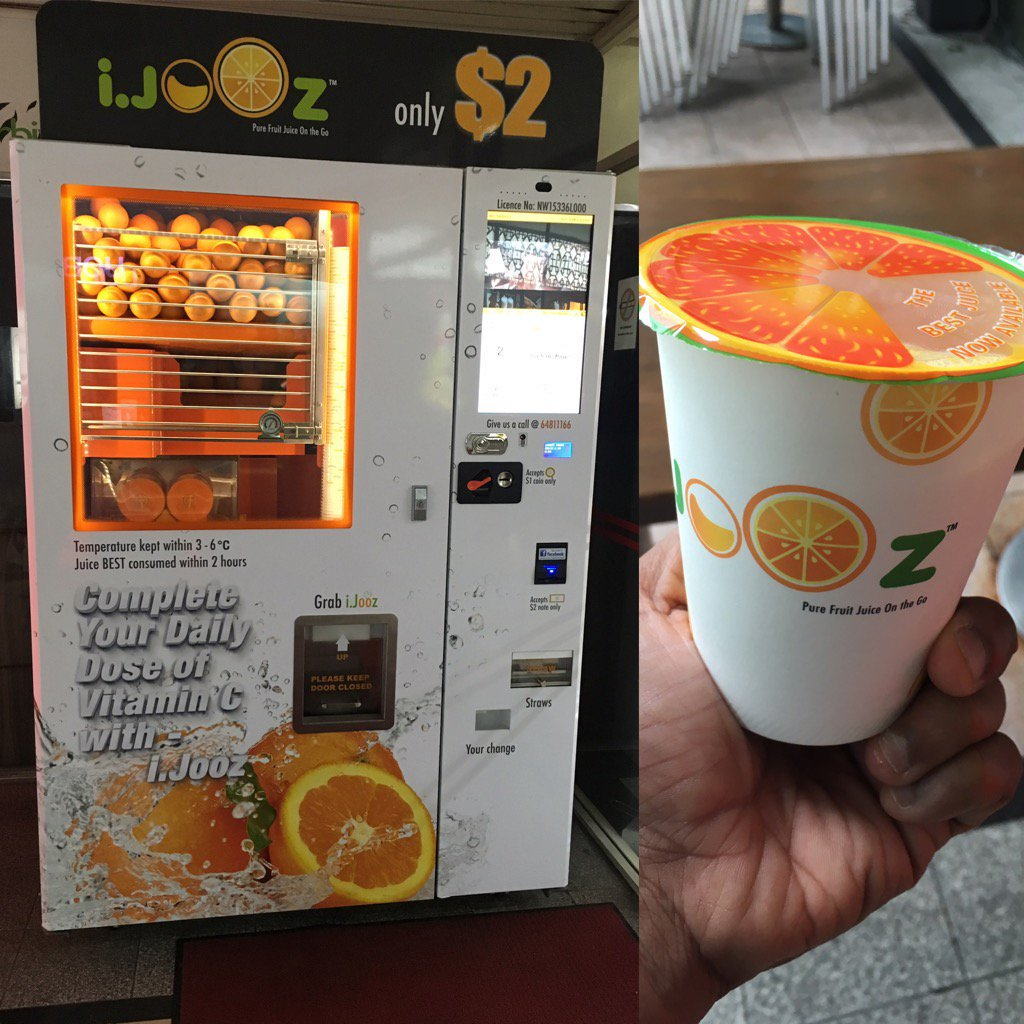 How Often Do They Clean Inside The Orange Juice Vending Machine