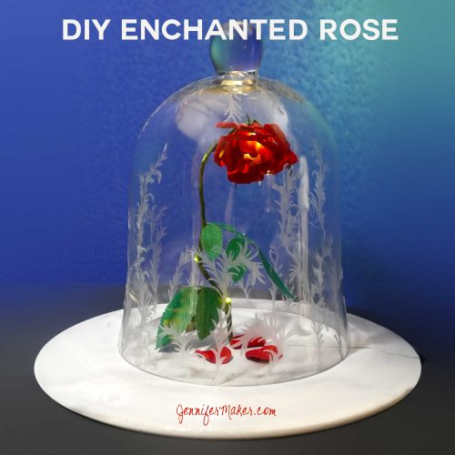 DIY Enchanted Rose from Beauty & the Beast