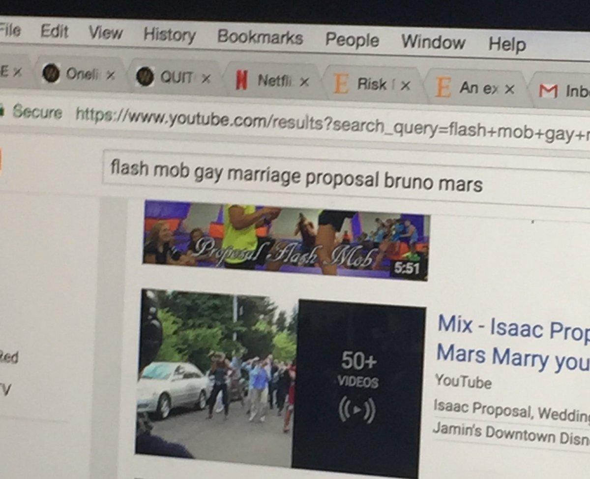 flash mob gay gay marriage video