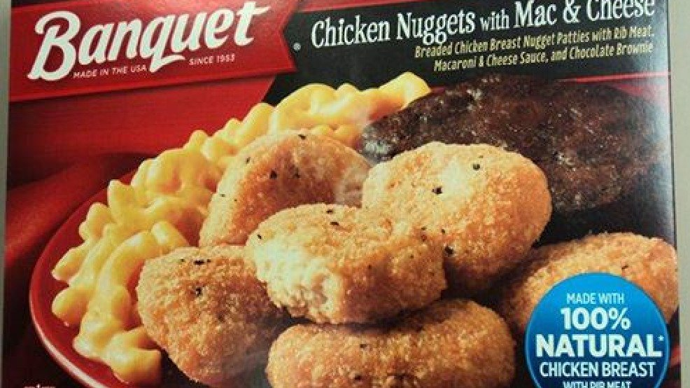 Health Alert: Frozen Banquet meals could be contaminated with salmonel...