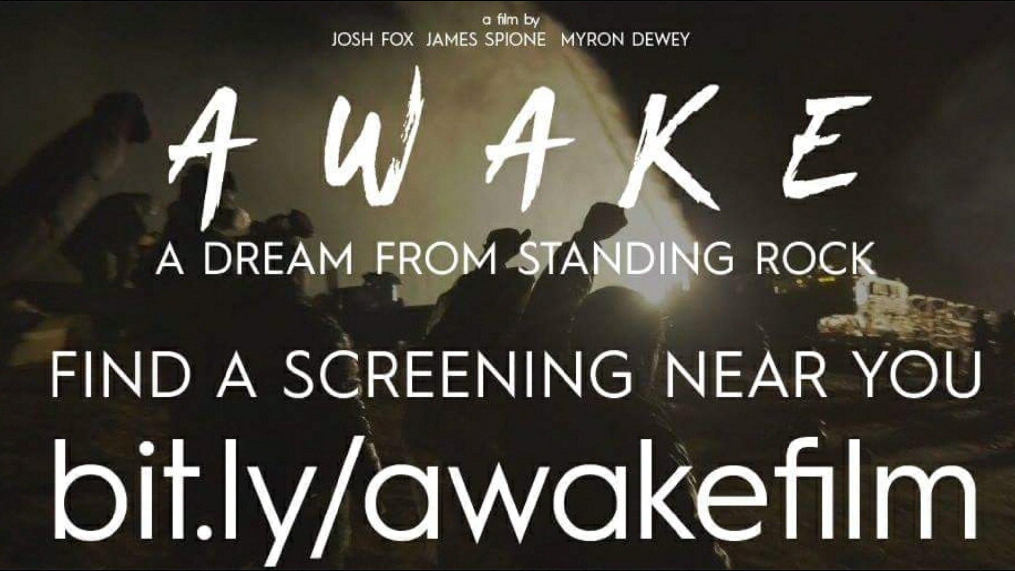 RT @joshfoxfilm: ONLY 2 MORE DAYS TIL AWAKE! @Tribeca #NoDAPL #standingrock https://t.co/A44kRSGM3k