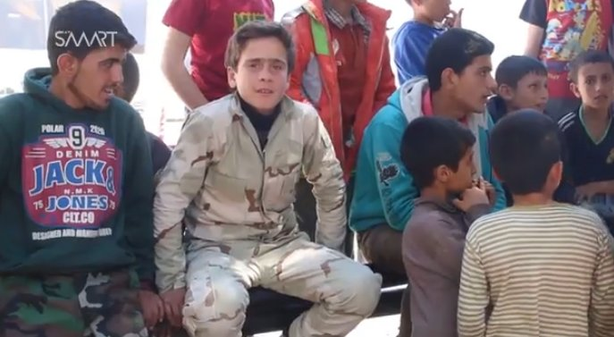 SMART News .@SMARTNewsAgency interviews child soldiers forced to fight for the government in Fua and Kefraya, Idlib, Syria.