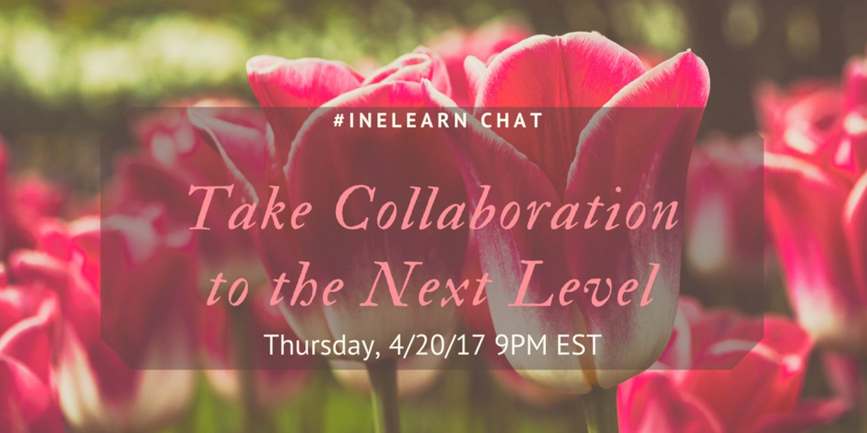 Thumbnail for #INeLearn Chat 4/20/17