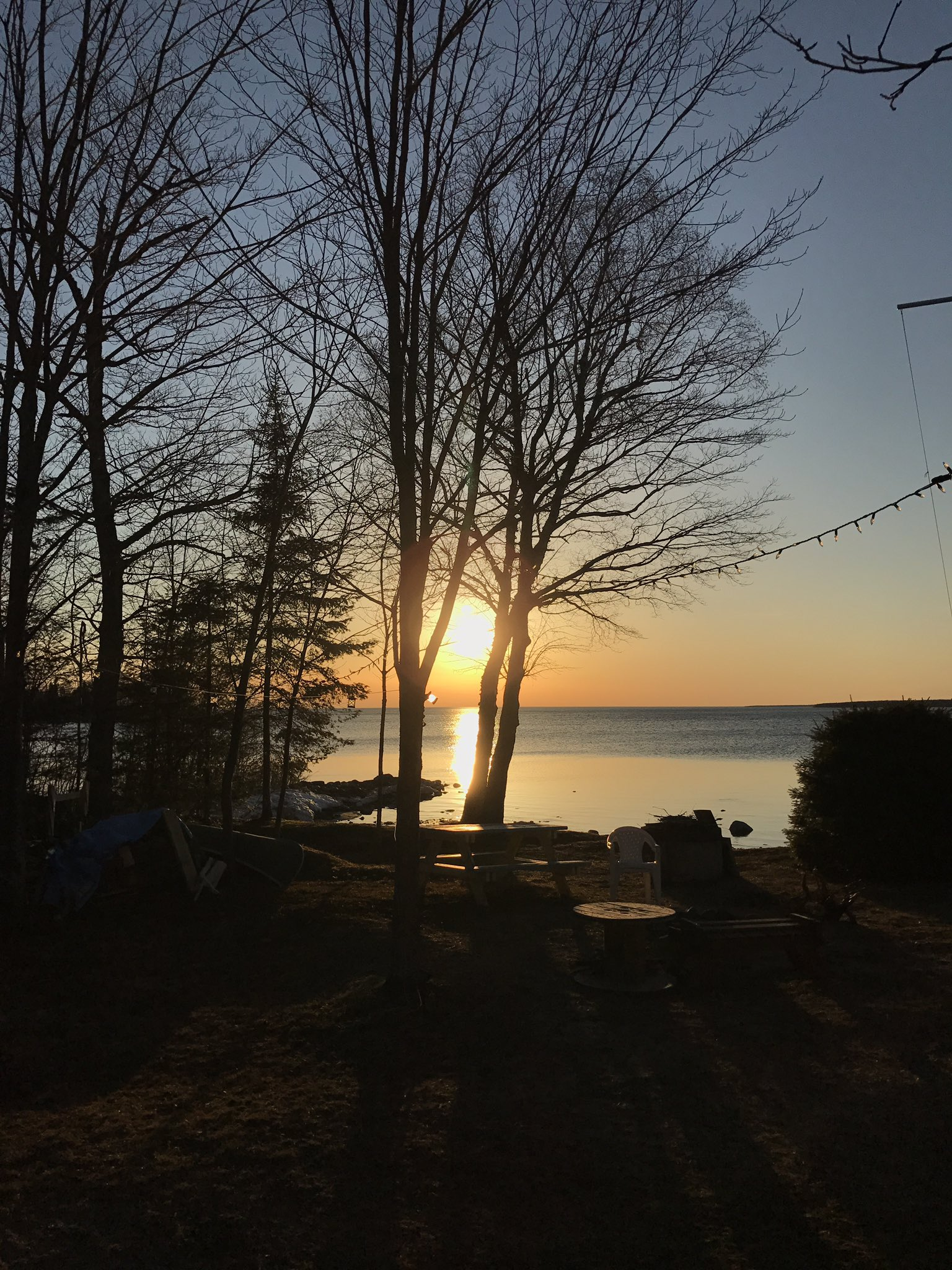 Hi! Carol from the Sault- my favorite landscape is any sunset at camp #myhappyplace #notabookstudy https://t.co/fwg1fmB2cW
