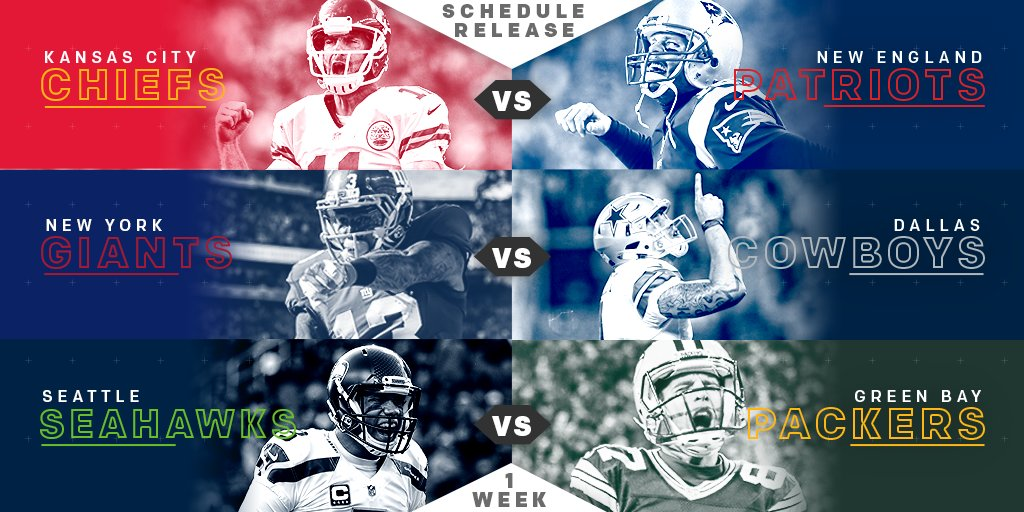 🏈🏈🏈 FOOTBALL! 🏈🏈🏈  The 2017 #NFLSchedule is finally here: https://t.co...