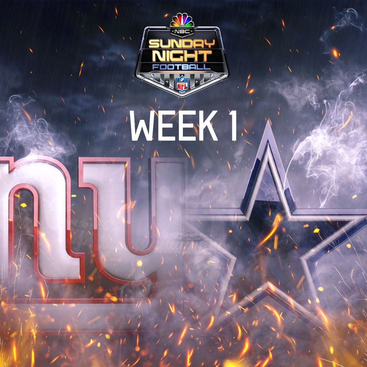 The first #SNF matchup of the season is an NFC East showdown!   #NFLSc...