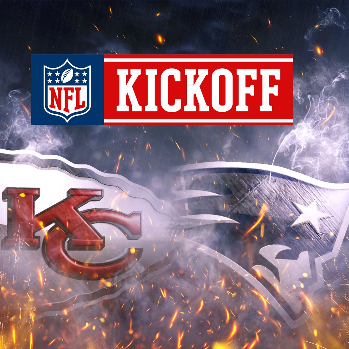 The #NFLKickoff matchup is @Chiefs - @Patriots on @NBC!   #NFLSchedule...