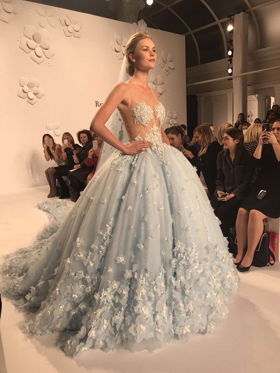 Kleinfeld bridal on twitter were feeling the light blue finale kleinfeld bridal on twitter were feeling the light blue finale randyfenoli wedding dress bridalfashionweek junglespirit