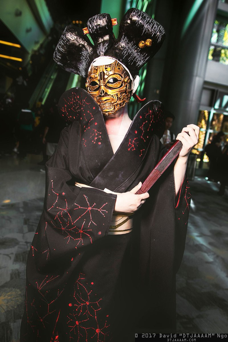 The Rpf On Twitter Robot Geisha From Ghost In The Shell By Aristargirl Photo Dtjaaaam Gits Costume Cosplay Craftyourfandom