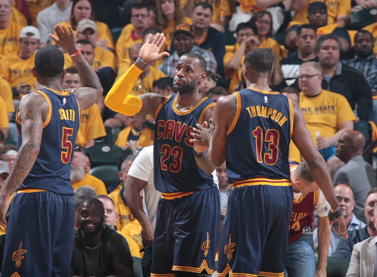 What a comeback!   Cleveland overcomes a 26-point deficit to defeat th...