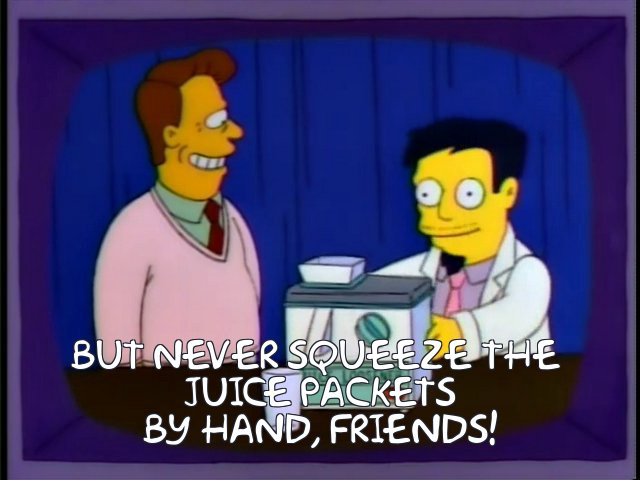 """In the case of Juicero, Simpsons really did """"do it"""" https://t.co/vYM0AKhrq9"""