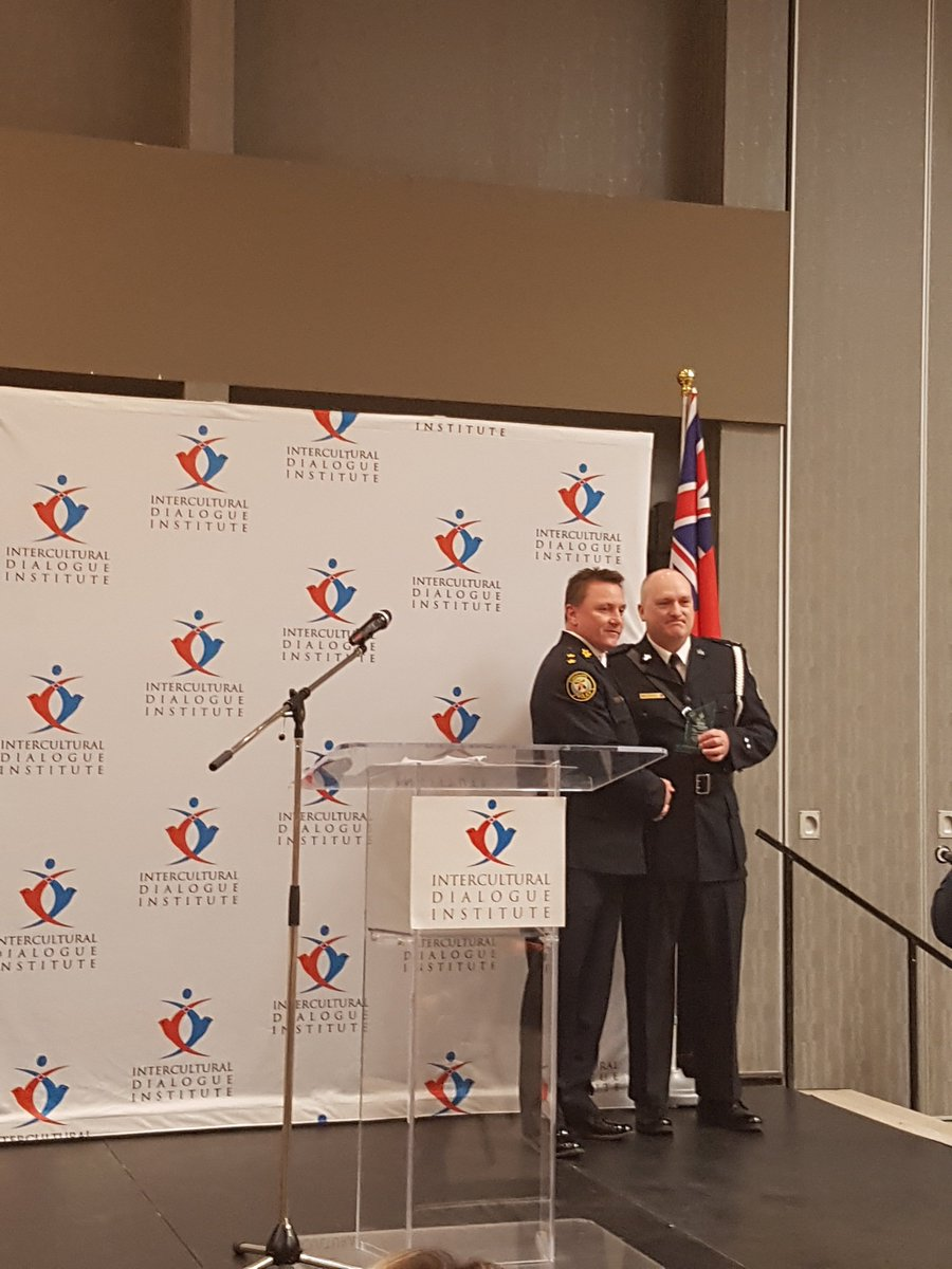 Congratulations to Sgt. Henry Dyck of @TorontoPolice on receiving the...