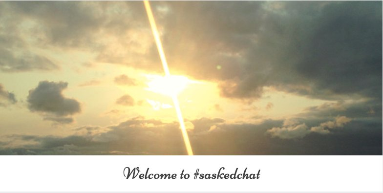 Thumbnail for #saskedchat - April 20, 2017