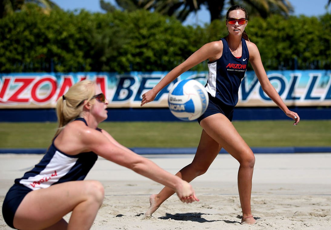 Arizona beach volleyball duo poised to make noise in final few weeks https://t.co/BDXtZkbDN8