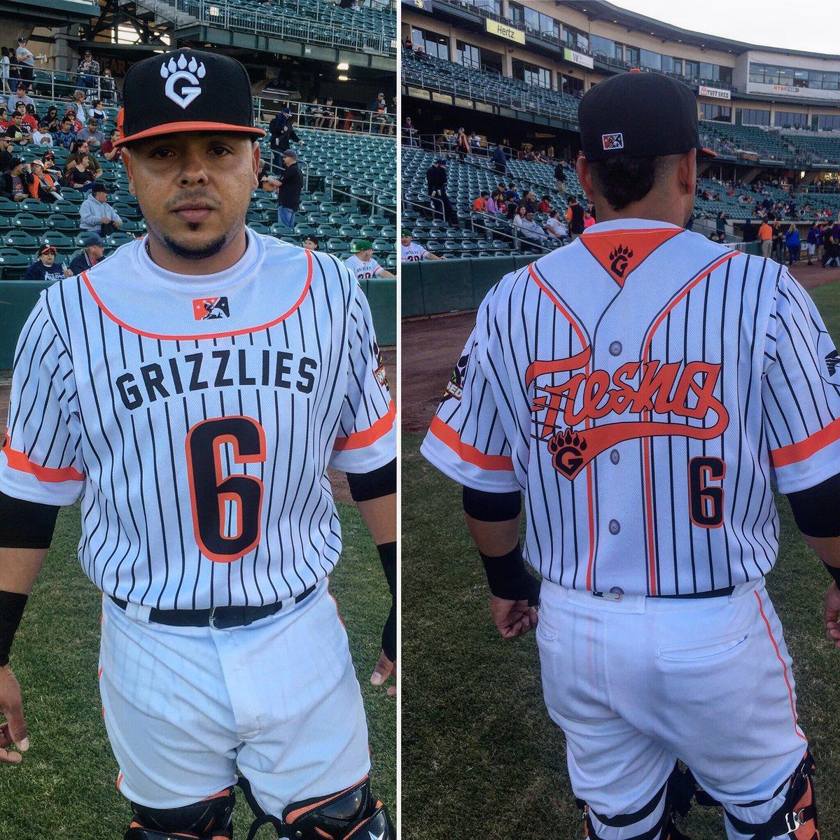 timeless design 73a16 53d00 Fresno Grizzlies on Twitter: