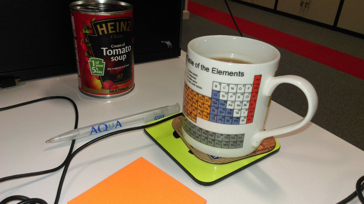 At the @AQuA_NHS office it's #nationalteaday everyday! ☕