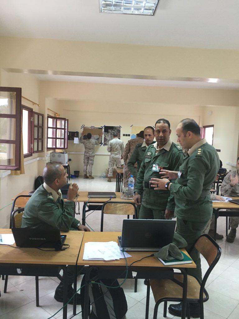 """انطلاق مناورات """"الأسد الإفريقي 17 """" في المغرب بمشاركة أمريكية C960U_eVoAAv74B"""