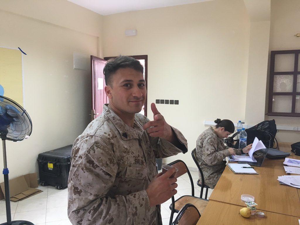 """انطلاق مناورات """"الأسد الإفريقي 17 """" في المغرب بمشاركة أمريكية C961QR4UMAAzbwN"""