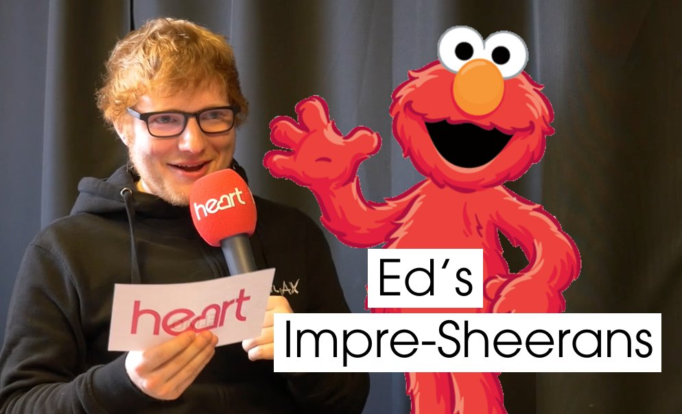 Can you guess who @edsheeran is impersonating? We couldn't get the last one!