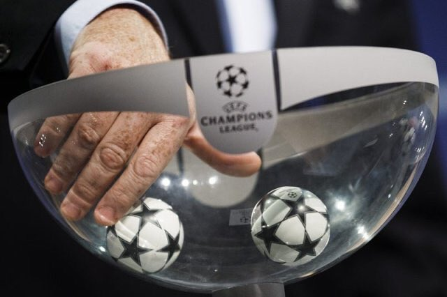 Champions League draw is in 8 hours...  Real Madrid Monaco Juventus Atletico Madrid  #HalaMadrid <br>http://pic.twitter.com/t80PZ5xlij