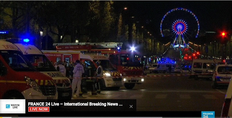 Our thoughts for family friends co-workers police killed,injured in #attentat #champselysees Solidarity w/ French people.Terror will not win<br>http://pic.twitter.com/941Zo9lR8N