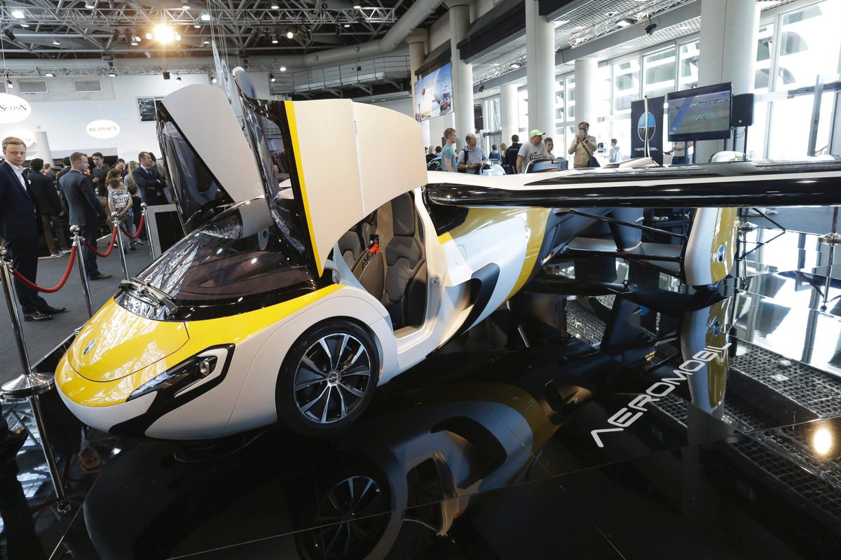 'Where's my flying car,' you say? Here