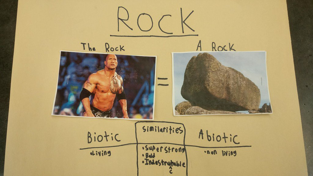 One of the fifth-graders I work with made this in his science class. It wasn't even for a grade.