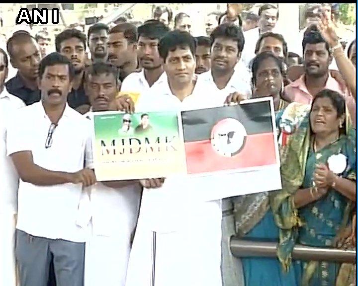 Chennai: Madhavan, husband of jayalalithaa 's niece Deepa Jayakumar launches his political party MJDMK