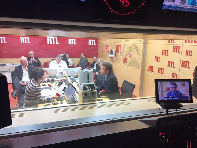 'Moi, je ne vais pas inventer un programme de lutte contre le terrorisme dans la nuit', dit @EmmanuelMacron dans #RTLMatin