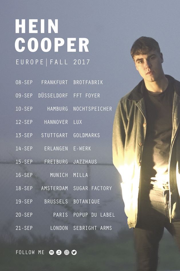 I\'m thrilled to announce I\'ll be heading out on my first Headline European tour! Tickets at: