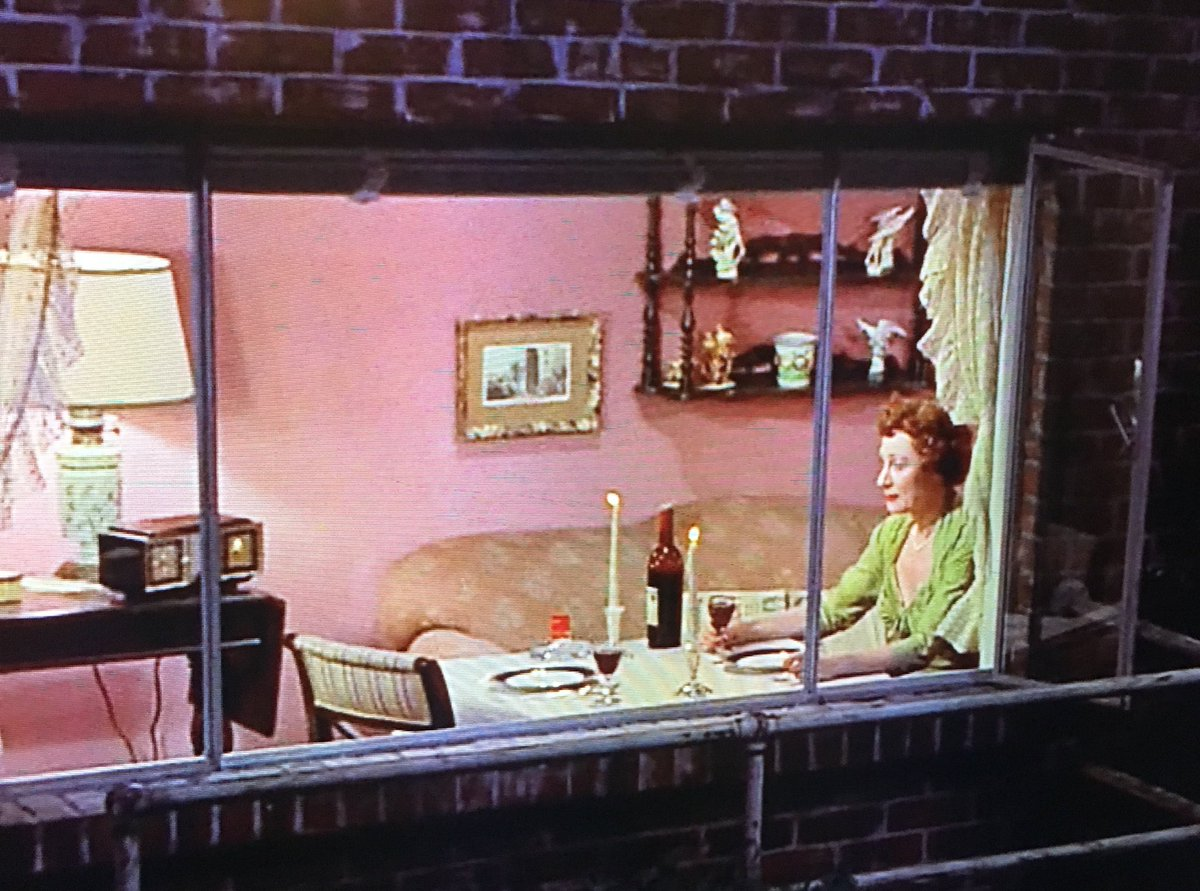 Aww Miss Lonelyhearts gets me every time 😢❤️ #RearWindow #TCMParty