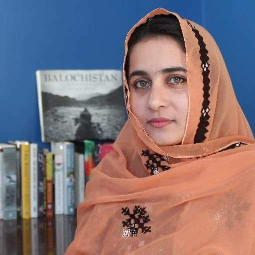 #Banuk kareema #Baloch. She is a great leader of #BSO Azad and she is working for #Free Balochistan<br>http://pic.twitter.com/3NTsSNMfTy