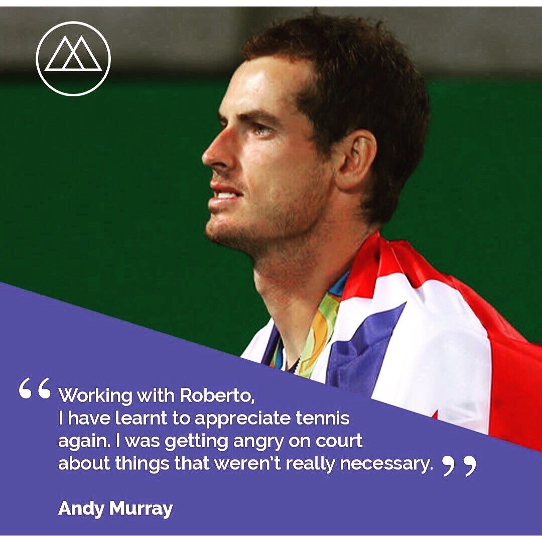 Andy murray twitter -  Andymurray Has Praised The Mynd Coach S Work Download It Now To Work With Roberto Personalcoach Personaldevelopment Motivationpic Twitter Com