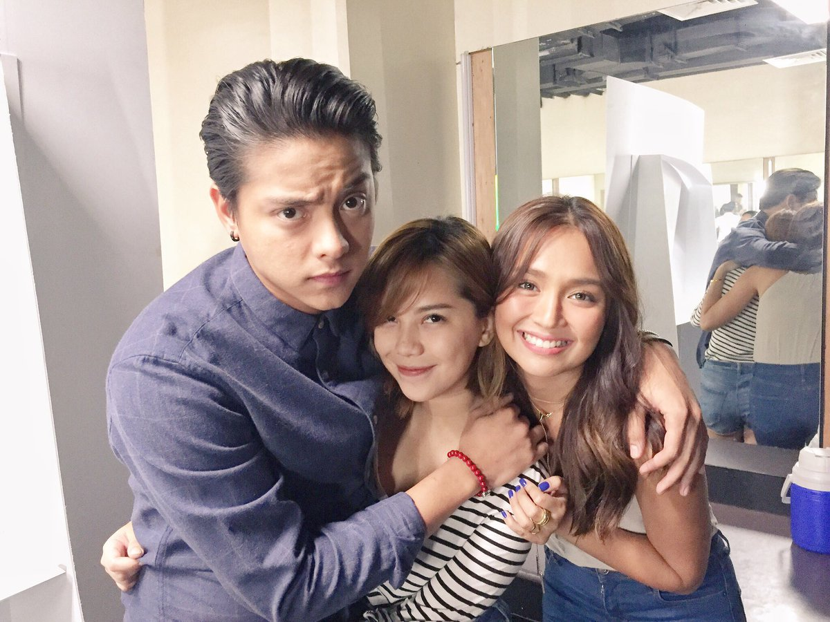 WITH THE MISTER AND THE MISIS. Always been proud of you two!!!!! Congrats!!!! @imdanielpadilla @bernardokath https://t.co/2CguMl4pMe