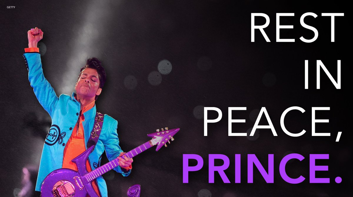 We remember the legendary Prince, who passed away one year ago today....